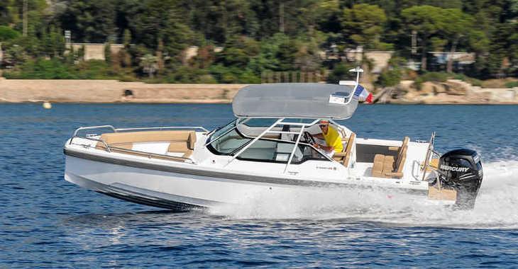 Alquilar barco a motor Axopar 24 TT en Marina Baotić, Seget Donji
