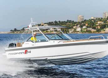 Rent a motorboat in Marina Baotić - Axopar 24 TT