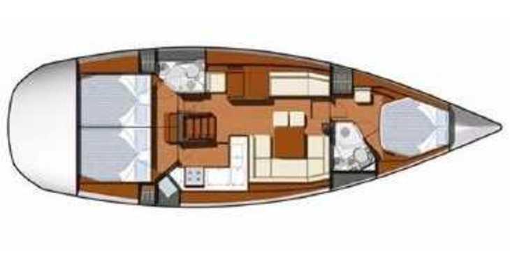 Alquilar velero Sun Odyssey 45DS en Marina Kornati, Kornati-Biograd