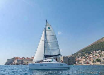 Rent a catamaran in ACI Marina Dubrovnik - Lagoon 380