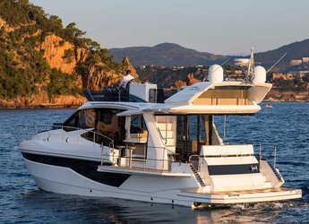 Rent a yacht in Marina Mandalina - Galeon 460 Fly