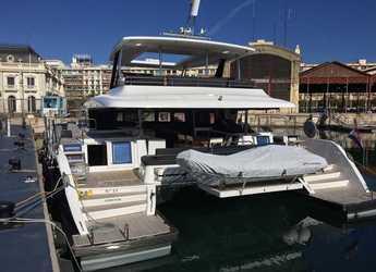 Rent a power catamaran in Marina Mandalina - Lagoon 630 Power