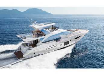 Rent a yacht in Marina Mandalina - Azimut 72