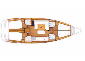 Alquilar velero Sun Odyssey 479 en Marina Sukosan (D-Marin Dalmacija), Sukosan
