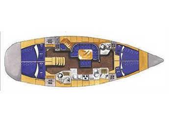 Alquilar velero Elan 45  en Marina Kastela, Kastel Gomilica