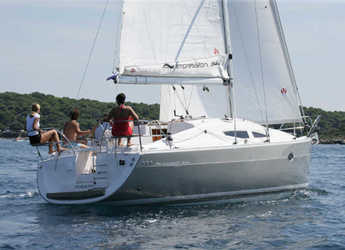 Rent a sailboat in Marina Sukosan (D-Marin Dalmacija) - Elan 344 Impression