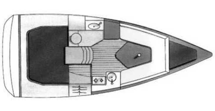 Rent a sailboat Sun Fast 26 in Marina Kornati, Kornati-Biograd