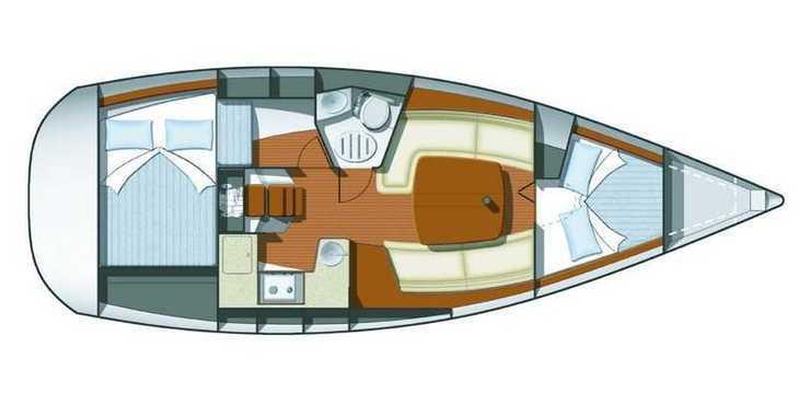 Alquilar velero Sun Odyssey 32i en ACI Marina, Pula