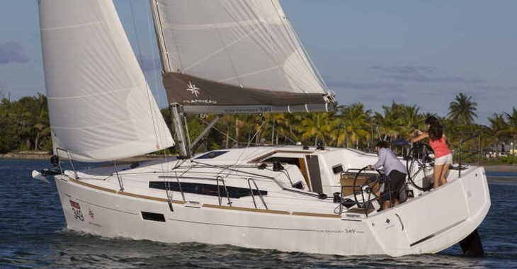 Rent a sailboat in Split (ACI Marina) - Sun Odyssey 349