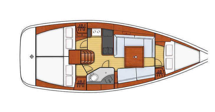 Alquilar velero Oceanis 34 en Marina Sukosan (D-Marin Dalmacija), Sukosan
