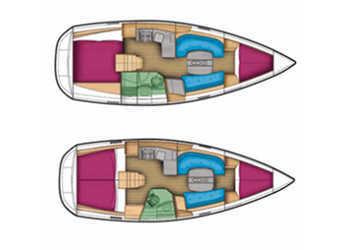 Rent a sailboat Oceanis 343 in Marina Sukosan (D-Marin Dalmacija), Sukosan