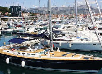 Rent a sailboat in Split (ACI Marina) - Beneteau 57