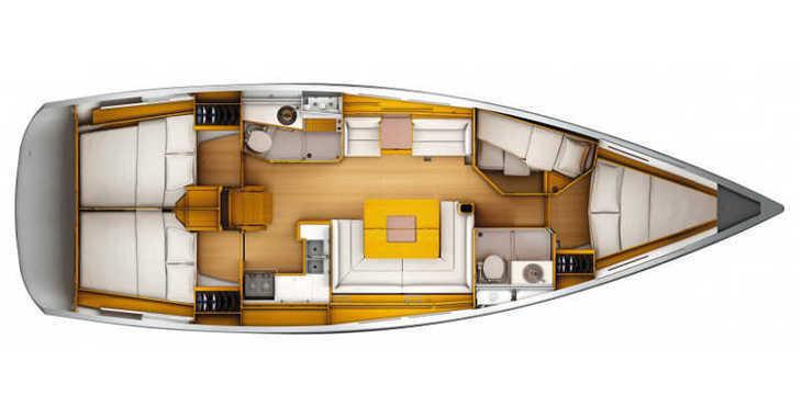 Rent a sailboat in Split (ACI Marina) - Sun Odyssey 439
