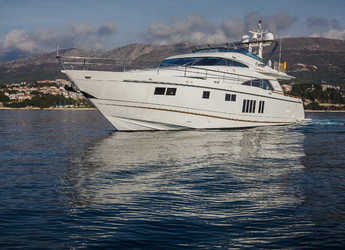 Rent a motorboat in Split (ACI Marina) - Fairline Squadron 78