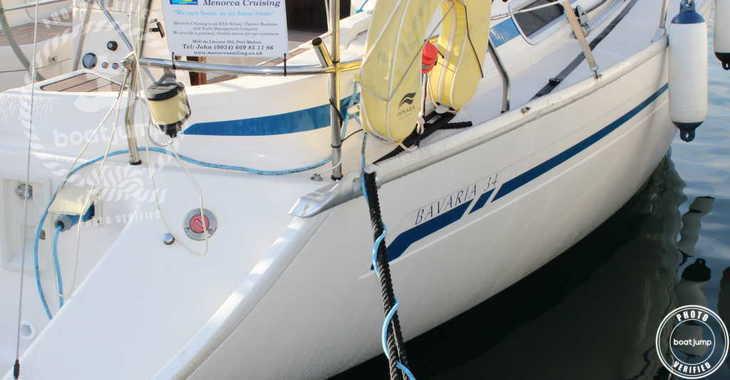 Rent a sailboat in Port Mahon - Bavaria 34
