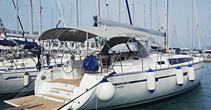 Rent a sailboat in Marina Baotić - Bavaria Cruiser 46