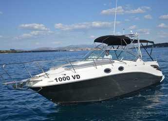Alquilar lancha Sea Ray 275 Amberjack en Yacht kikötő - Tribunj, Tribunj