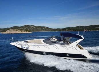 Chartern Sie motorboot in Yacht kikötő - Tribunj - Sessa C35