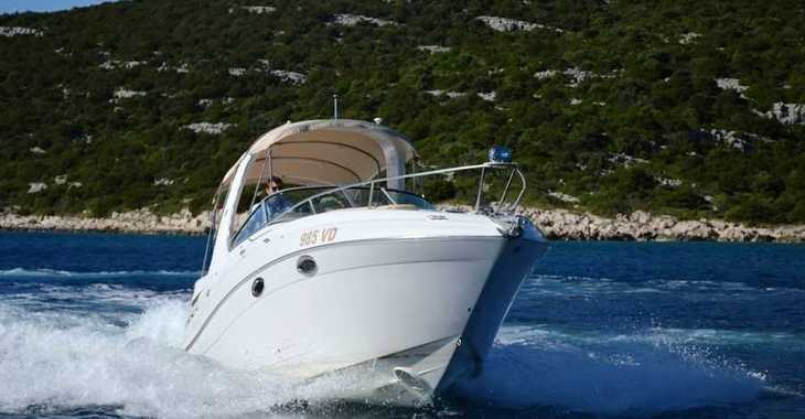 Rent a motorboat in Yacht kikötő - Tribunj - Four Winns 278 Vista White