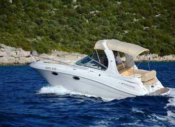 Rent a motorboat Four Winns 278 Vista White in Yacht kikötő - Tribunj, Tribunj