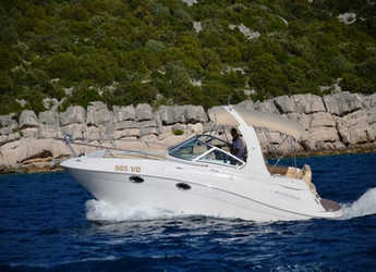 Rent a motorboat in Yacht kikötő - Tribunj - Four Winns 278 Vista White