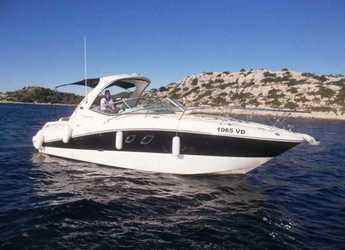 Rent a motorboat in Yacht kikötő - Tribunj - Sea Ray 335 Sundancer