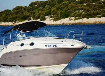 Rent a motorboat Sea Ray 255 Sundancer in Yacht kikötő - Tribunj, Tribunj