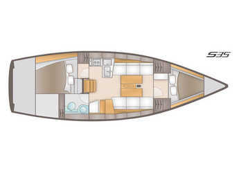 Alquilar velero Salona 35 en SCT Marina Trogir, Trogir