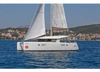Rent a catamaran in SCT Marina Trogir - Lagoon 39 Premium