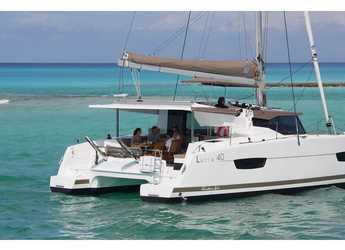 Rent a catamaran in Veruda - Lucia 40 (4cab./4 hds)