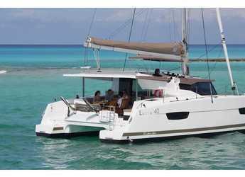 Chartern Sie katamaran in Veruda - Lucia 40 (4cab./4 hds)
