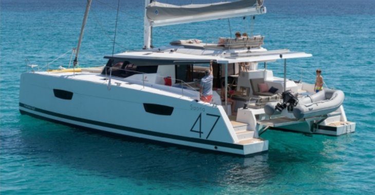 Chartern Sie katamaran in Marina Kastela - Saona 47