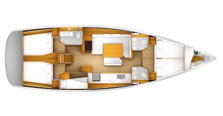Rent a sailboat in Veruda - Sun Odyssey 519 - 5+1cab.