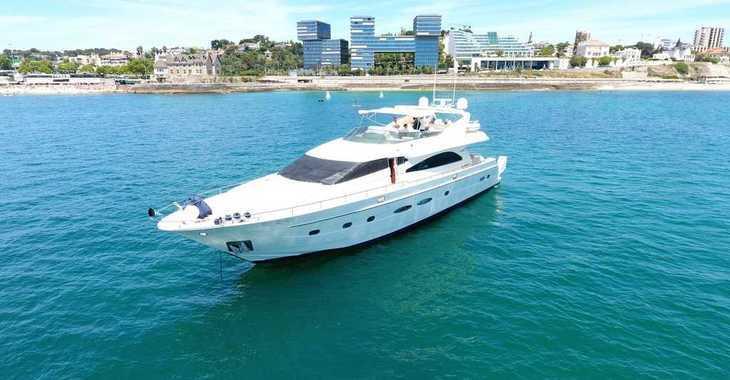 Alquilar barco a motor Astondoa 82 en Marina Ibiza, Ibiza (ciudad)