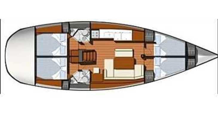 Rent a sailboat in ACI Marina Vodice - Sun Odyssey 44i