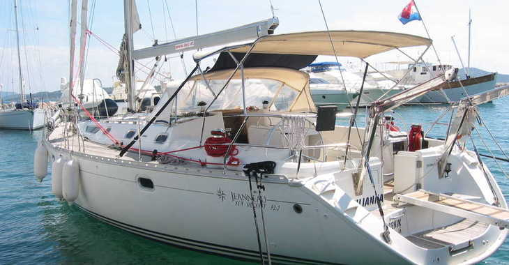 Rent a sailboat in ACI Marina Vodice - Sun Odyssey 52.2