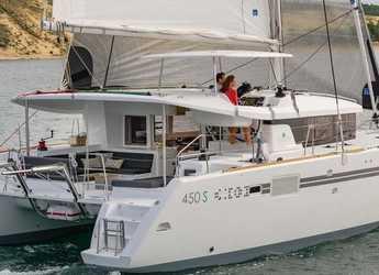 Rent a catamaran in ACI Marina Dubrovnik - Lagoon 450 SporTop