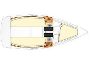 Alquilar velero Beneteau First 21.7 en Marina Lucica Špinut,