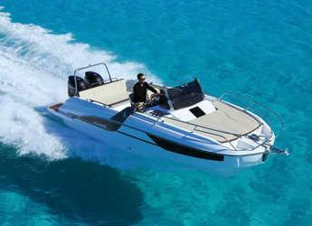 Chartern Sie motorboot in PŠU Banj - Beneteau Flyer 7.7 Sundeck