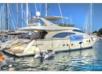 Rent a yacht in Marina Zadar - Ferretti 680