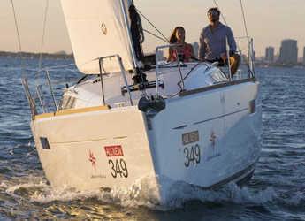 Rent a sailboat in Trogir (ACI marina) - Sun Odyssey 349