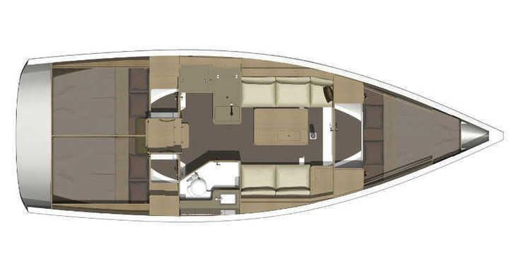 Alquilar velero Dufour 350 GL   en Trogir (ACI marina), Trogir