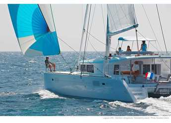 Rent a catamaran in Cala dei Sardi - Lagoon 450F