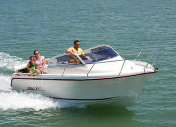 Rent a motorboat in Vigo  - Oqueteau Abaco 20