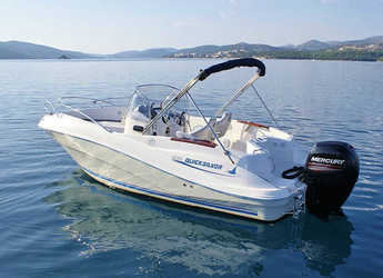 Rent a motorboat in Vigo  - Quicksilver 635