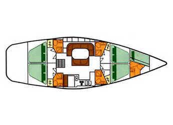 Alquilar velero Oceanis 500 en Vigo , Pontevedra