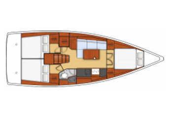 Rent a sailboat Oceanis 38.1 in Port Olimpic de Barcelona, Barcelona City