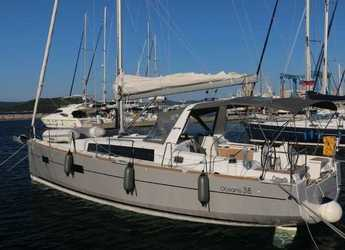 Rent a sailboat in Marina Kornati - Oceanis 38