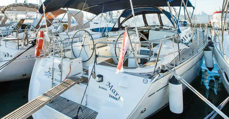 Rent a sailboat in Marina Kornati - Sun Odyssey 43