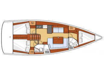 Alquilar velero Oceanis 41 en Marina del Sur. Puerto de Las Galletas, Las Galletas